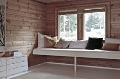built in daybed | DIY: Instant Built-in Day Bed by Izabella Simmons