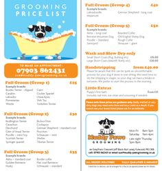 Pet Cards Grooming Pinterest For Dogs Pets And Cards