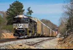 RailPictures.Net Photo: NS 1104 Norfolk Southern EMD SD70ACe at Flowery Branch, Georgia by Charles Daniel