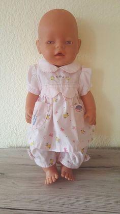 Zapf Creation Baby Born - Bekleidung - 2-Teiler pinkes Kleidchen mit langer Hose in Spielzeug, Puppen & Zubehör, Babypuppen & Zubehör   eBay!