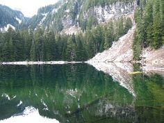 Green Lake, day hiking Mt Rainier  Good for kids, unfortunately dogs not allowed :/ (I'd prefer to take a dog than kids!)