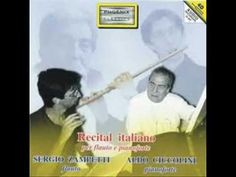 Nino Rota: Pavana -  Sergio Zampetti, flute - Aldo Ciccolini, piano
