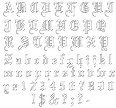 Tattoo Font Templates - 40 Designs Posts Have you always wanted a . - Tattoo Font Templates – 40 Designs Posts Have you always wanted a tattoo but didn& kno - Stencil Lettering, Tattoo Lettering Fonts, Graffiti Lettering, Tattoo Stencils, Graffiti Numbers, Gothic Lettering, Creative Lettering, Tattoo Fonts Alphabet, Hand Lettering Alphabet
