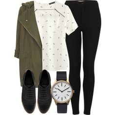 Untitled #3744 by laurenmboot on Polyvore featuring Topshop, ASOS and Uniform Wares
