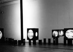 Stanisław Zamecznik, exhibition design, c1960-5