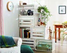35 ideas para decorar con cajas de frutas   Decorar tu casa es facilisimo.com