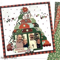 Christmas Memories! by Christine Meyer – Simple Stories Christmas Scrapbook Layouts, Scrapbook Page Layouts, Scrapbooking, Christmas Layout, Last Christmas, Christmas Ornaments, Xmas, Image Layout, Jingle All The Way