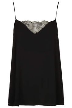 Tall Lace Insert Cami topshop