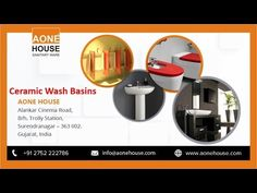 """Aone House offers exclusive range of sanitary wash basin with the most particular colour choice. For variety of wash basins like Padestal Washbasins, Hand Craft Washbasins, Sticker Washbasins, Rustic Wash Basins, Corner & Square Wash Basins, visit at: <a href=""""http://www.aonehouse.com/hand-craft-series/"""">http://www.aonehouse.com/hand-craft-series/</a>"""