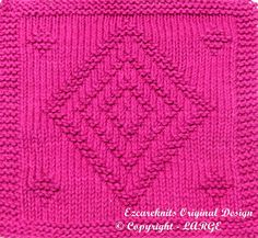 Pattern includes easy to follow instructions. Materials Needed: Straight knitting needles, size US 7 (4.5mm) 100% Cotton Medium/Worsted Weight yarn [60 yards] In any color you choose. Stitches: knit & purl. Skill: Beginner Finished Size: 7.75W X 8.8 H Darning needle for finishing. This pattern will be delivered via email as an attached PDF file. To receive patterns in PDF format you will need to have Adobe Reader installed on your computer. This reader is available for free at the ...