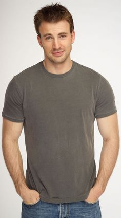 Chris Evans. He's sooo cute!