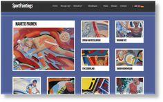 Prachtige sportkunstwerken, die als sterren stralen op deze site.