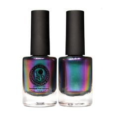 Sirène - Ultra Chrome Duochrome Nail Polish - Green, Blue, Violet, Red, and Gold.. I won't be using this on my nails.......