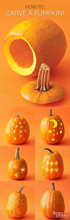 13 Expert Tips for Carving a Perfect Pumpkin from Better Homes and Gardens Deputy Art Director Scott Johnson gives us the scoop on how to carve the perfect pumpkin this Halloween.