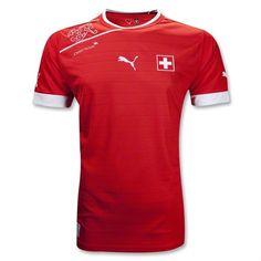 Switzerland Home Jersey 2012/14 瑞士主場球衣 2012/14 US$74.30 HK$579.54