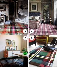Tartan Rugs on the Interior Collective
