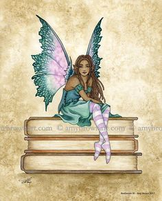 Fairy Art Artist Amy Brown: The Official Online Gallery. Fantasy Art, Faery Art, Dragons, and Magical Things Await. Elves Fantasy, Fantasy Art, Amy Brown Fairies, Dark Fairies, Fable, Fairy Pictures, Fairy Art, Book Fairy, Beautiful Fairies