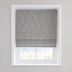Elements Boucle Grey Roman Blind