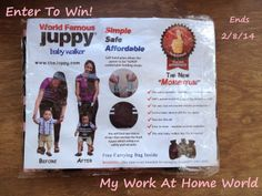 My Work At Home World: Bella's First Steps! A Juppy Baby Walker Review & #GIVEAWAY! @The Juppy