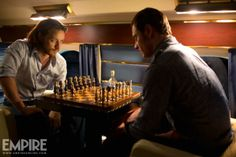 X-Men: Days of Future Past. Chess? Fabulous. These two together? Amazing. I love their relationship so much.