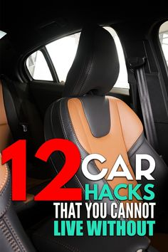12 car cleaning hacks that will keep your car neat and organized. If you're a mom with small kids or teens, you need to try these car hacks! Easy car life hacks to keep your car organized on road trips or just everyday travels. Car Life Hacks, Car Hacks, Car Cleaning Hacks, Organization Hacks, Clean House, Road Trips, Clutter, Trust, Mom