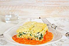 y sigo en la cocina: Terrina de arroz,espinaca,berenjena y tomate confitado