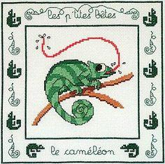 cameleon free cross stitch                              …