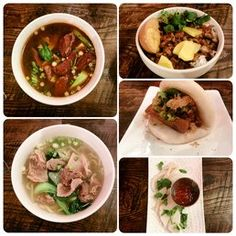 Ah-Ma's Taiwanese Kitchen - Atlanta, GA, United States. Beef noodle Lu Rou Fan Beef tendon soup Bao Cuttlefish