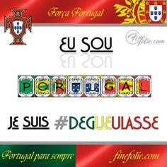 Eu sou Portugal e Je suis dégueulasse