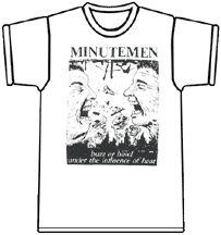 Minutemen T-Shirt | Interpunk.com - The Ultimate Punk Music Store!