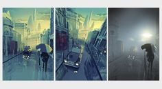 ArtStation - LowPoly London, Mat Szulik