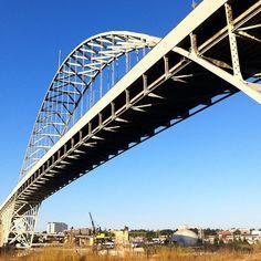 Fremont bridge in Portland, Oregon.