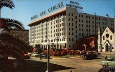 PENSACOLA FLORIDA | Hotel San Carlos, Downtown Pensacola Florida