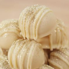 We've added sparkling Riondo Prosecco to sweet white chocolate and raspberry for the ultimate holiday truffle. With creamy raspberry filling covered in white White Chocolate Truffles, White Chocolate Raspberry, White Chocolate Chips, Raspberry Filling, Popsugar Food, Edible Glitter, Truffle Recipe, The Dish