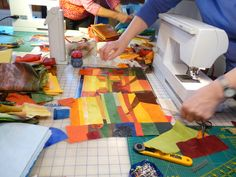 Quilt-around Quilts und mehr: Ton Schulten Workshop