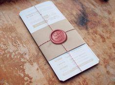 https://flic.kr/p/omuHYi | Invitaciones de boda lacradas | lacresbarcelona.com  presenta muestras de su colección de sellos de lacre.