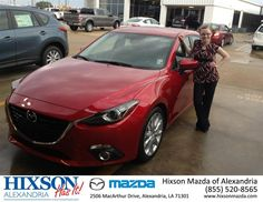 "https://flic.kr/p/tm4bXC | #HappyAnniversary to Marissa St Ama on your 2014 #Mazda #Mazda3 from Everyone at Hixson Mazda of Alexandria! | <a href=""http://www.hixsonmazda.com/?utm_source=Flickr&utm_medium=DMaxxPhoto&utm_campaign=DeliveryMaxx"" rel=""nofollow"">www.hixsonmazda.com/?utm_source=Flickr&utm_medium=DMa...</a>"