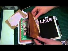 """New Traveller's Notebook...pockets galore 'oh my"""" - YouTube"""
