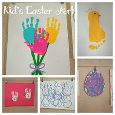 love the easter flowers... just not sure about paint at the activity