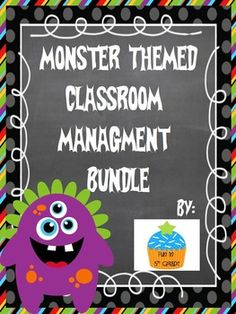 Monster Themed Classroom Management System Bundle (Dojo $ & Reward Coupons) Works well with Class Dojo or alone! $  Other themes available, too!!