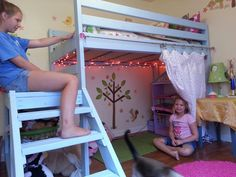 Ana White | Camp Loft Bed - DIY Projects