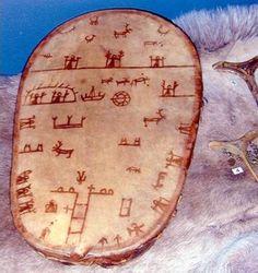 Reindeer Skinned Sami Drum