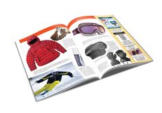 Ski Canada magazine spread.