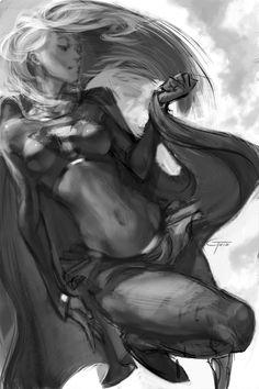 Supergirl sketch by ~JimboBox on deviantART
