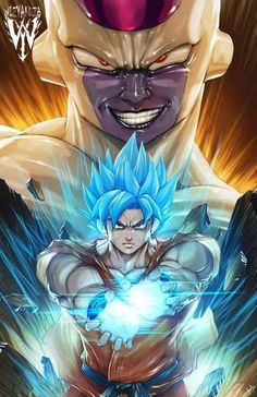 Goku vs Golden Frieza