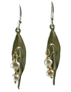 Silver Seasons - Michael Michaud - Lily of the Valley Earrings