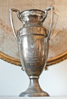 I soooooo love vintage trophy cups and would love to start a collection...