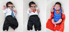 Newborn Superman.