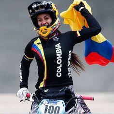 MARIANA PAJON Bmx Racing, Bmx Bikes, Rio 2016, Mountain Biking, Motorcycle Jacket, Cycling, Jackets, 1 Place, Html