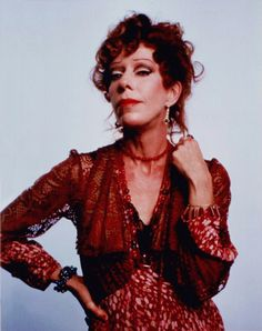 Carol Burnett as Miss Hannigan. While auditioning for Annie, I got the chance to meet her. She was just so super nice & bubbly with the most infectious laugh!!